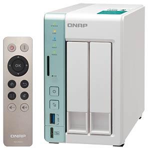 NAS-Server Leergehäuse QNAP TS-251A-2G