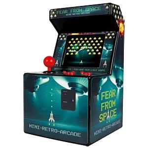 retro arcade console de jeux vid o r tro chez reichelt elektronik. Black Bedroom Furniture Sets. Home Design Ideas