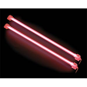 Revoltec cold light cathodes, twin set, red, 313 mm REVOLTEC RM124
