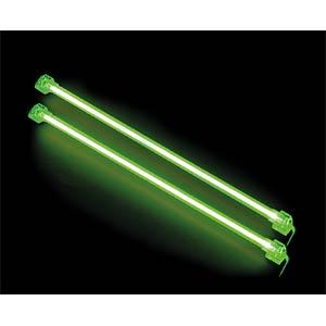 Revoltec cold light cathodes, twin set, green, 313 mm REVOLTEC RM125