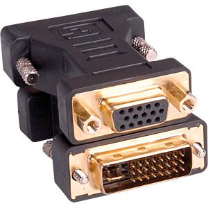DisplayPort adapter, DVI plug to VGA socket ROLINE 03.12.05