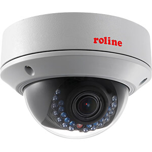 Überwachungskamera, IP, LAN, außen, PoE ROLINE 21197318