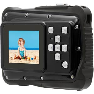Unterwasserkamera, 5 MP, 8-fach Zoom, schwarz ROLLEI 10066