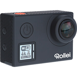 Actioncam 530, 4K Video Resolution, black ROLLEI 40312