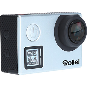 Actioncam 530, 4K Video Resolution, silver ROLLEI 40313
