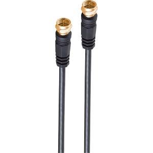 SHVP 80092G128S - SAT-Anschlusskabel mit Ferrit