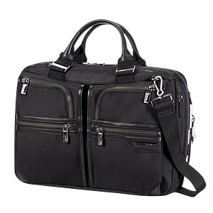 "GT Supreme Bailhandle 15,6"" Black/Black SAMSONITE 64033-1050"