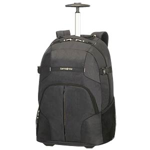 "Rewind Laptop Backpack WH 55 16"" Black SAMSONITE 75256-1041"