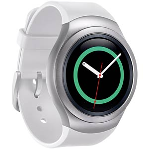 Samsung Gear S2 Smartwatch, weiß/silber SAMSUNG SM-R7200ZWADBT