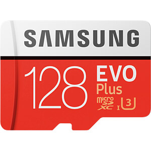MicroSDXC-Card 128GB - Samsung - EVO Plus SAMSUNG MB-MC128GA/EU