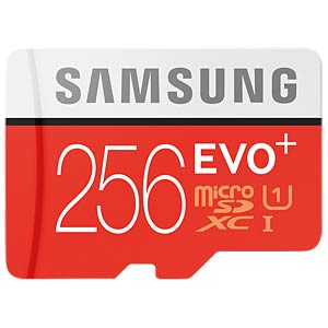 MicroSDXC-Card 256GB - Samsung - Class10/UHS-1 SAMSUNG MB-MC256DA/EU