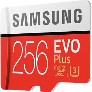 EVO Plus microSD Kaart 256 GB, incl. adapter SAMSUNG MB-MC256GA/EU