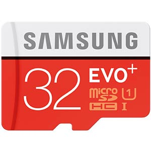 MicroSDHC-Card 32GB - Samsung - Class10/UHS-1 SAMSUNG MB-MC32DA/EU