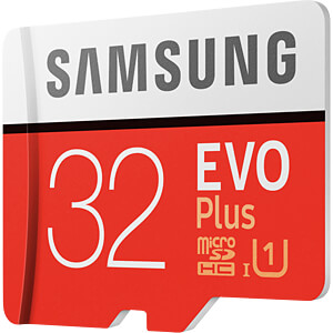 MicroSDHC-Card 32GB - Samsung - EVO Plus SAMSUNG MB-MC32GA/EU