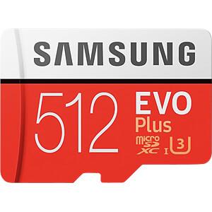 MicroSDXC-Speicherkarte 512GB - Samsung - EVO Plus SAMSUNG MB-MC512GA/EU