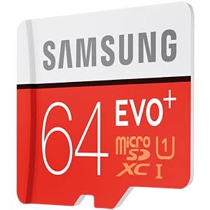 MicroSDXC-Card 64GB - Samsung - Class10/UHS-1 SAMSUNG MB-MC64DA/EU