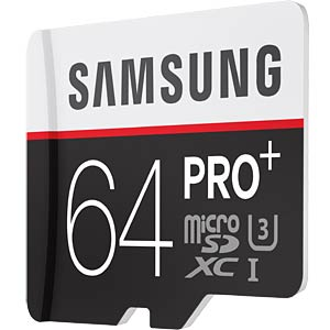 MicroSDXC card, 64GB, Samsung, class 10/UHS-1 SAMSUNG MB-MD64DA/EU