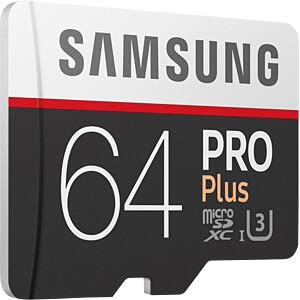 MicroSDXC-Speicherkarte 64GB - Samsung - PRO Plus SAMSUNG MB-MD64GA/EU