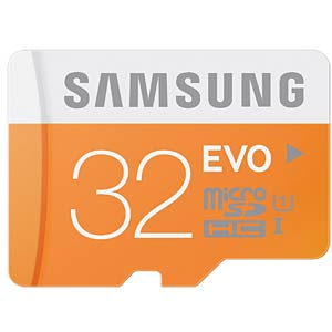 MicroSDHC-Card 32 GB - Samsung - Class 10 SAMSUNG MB-MP32DA/EU