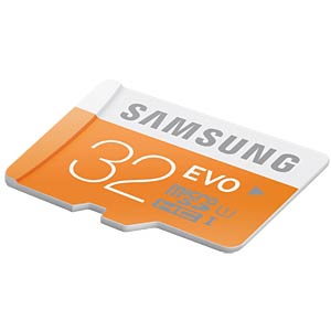 MicroSDHC card, 32GB — Samsung — Class 10 SAMSUNG MB-MP32DA/EU