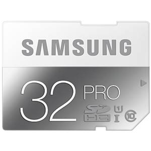 SDHC-Card, 32GB - Samsung - Class 10 SAMSUNG MB-SG32D/EU