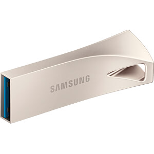 USB-Stick, USB 3.1, 128 GB, BAR Plus Silver SAMSUNG MUF-128BE3/EU