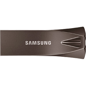 USB-Stick, USB 3.1, 256 GB, BAR Plus Titan Gray SAMSUNG MUF-256BE4/EU