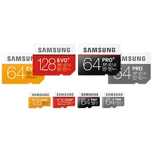 SDHC-Card 32GB - Samsung - Class 10 - UHS-1 SAMSUNG MB-SC32D/EU