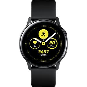 Smartwatch, Samsung Galaxy Watch Active schwarz SAMSUNG SM-R500NZKADBT