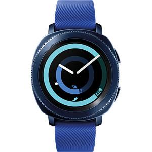 Smartwatch, Samsung Gear Sport blau SAMSUNG SM-R600NZBADBT
