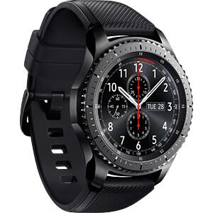 Smartwatch, Samsung Gear S3 Frontier grau SAMSUNG SM-R760NDAADBT