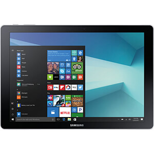Tablet, Galaxy Book, Window 10, Wi-Fi SAMSUNG SM-W720NZKADBT