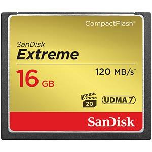 CFast-Speicherkarte 16GB SanDisk Extreme 2-Pack 120MB/s SANDISK SDCFXS2-016G-X46