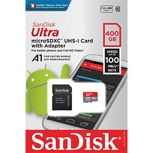 MicroSDXC-Speicherkarte 400GB - SanDisk Ultra SANDISK SDSQUAR-400G-GN6MA