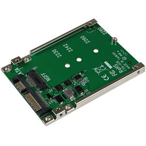 M.2 NGFF SSD > 2,5-inch SATA-adapter STARTECH.COM SAT32M225