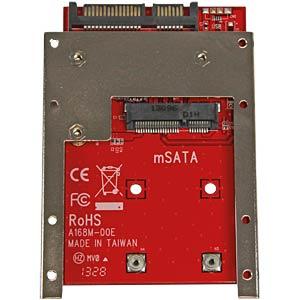 Konverter mSATA SSD > 2,5  SATA STARTECH.COM SAT32MSAT257