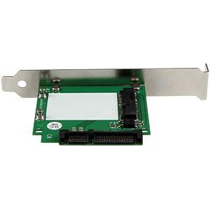 SATA > mSATA Adapter mit Slotblech STARTECH.COM SAT32MSATPEX