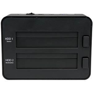 Dockingstation 2.5/ 3.5 SATA HDD/SSD, USB 3.0, Duplikator STARTECH.COM SATDOCK2REU3