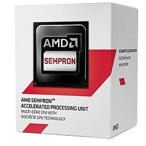 AMD AM1 Sempron 3850 boxed, 4x 1,30 GHz AMD SD3850JAHMBOX