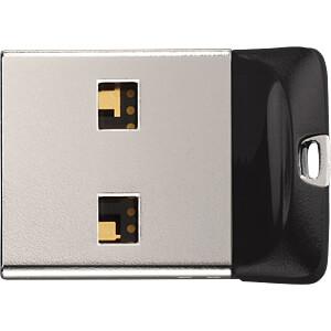 USB-Stick, USB 2.0, 16 GB, Cruzer Fit SANDISK SDCZ33-016G-G35