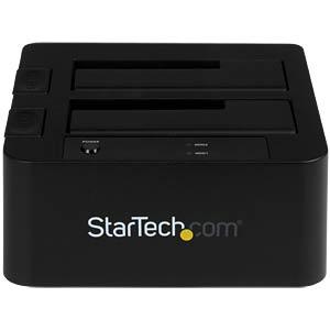 Dual Dockingstation 2.5/ 3.5 SATA HDD, USB 3.0/ eSATA STARTECH.COM SDOCK2U33EB