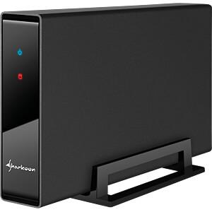 externes 3,5 SATA HDD Gehäuse, USB 3.0 SHARKOON 4044951016310