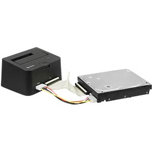 HDD docking housing USB 3.0 > SATA IDE HDDs SHARKOON 4044951011797