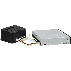 HDD docking housing USB 2.0 > SATA IDE HDDs SHARKOON QUICKPORT COMBO