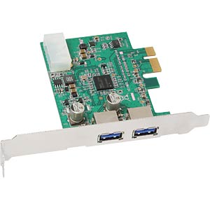 USB-Controller 3.0, 2-Port, PCI-Express SHARKOON FPUS10