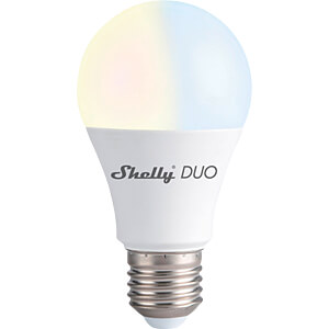 SHELLY DUO E27 - Shelly Duo E27 Wi-Fi WLAN Lampe