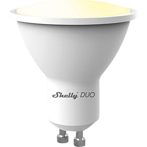 SHELLY DUO GU10 - Shelly Duo GU10 Wi-Fi WLAN Lampe