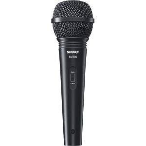 SHURE SV200 - Gesangsmikrofon mit Nieren-Richtcharakteristik