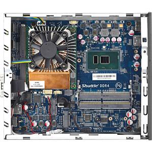 Barebone PC, XPC slim DH02U SHUTTLE PIB-DH02U001