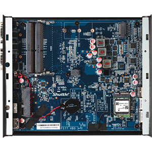 Barebone PC, XPC slim DS77U7 SHUTTLE PEB-DS77U701